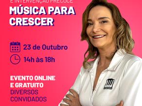 1º Webinário Musicoterapia e Intervenção Precoce - Música para CRESCER.