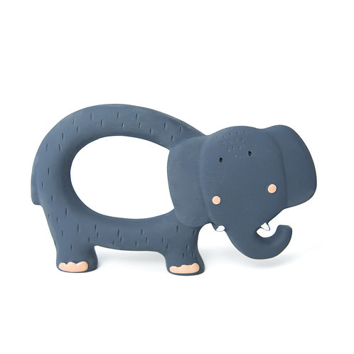 TRIXIE Natural Rubber Grasping Toy - Elephant