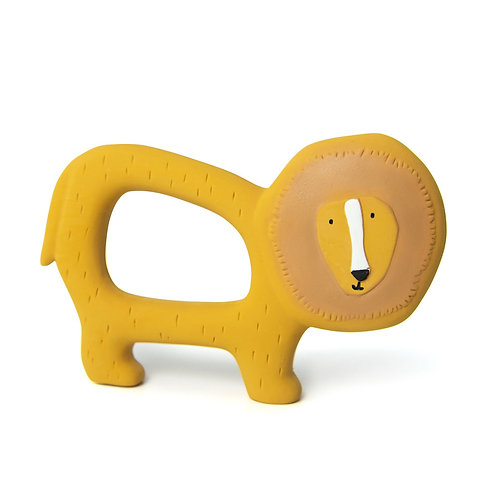 TRIXIE Natural Rubber Grasping Toy - Lion