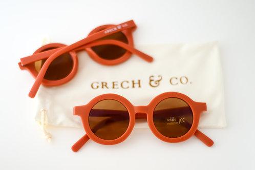 GRECH & CO Sustainable Kids Sunglasses - Rust