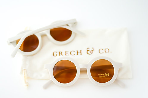 GRECH & CO Sustainable Kids Sunglasses - Buff