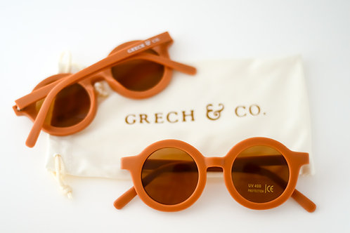 GRECH & CO Sustainable Kids Sunglasses - Spice
