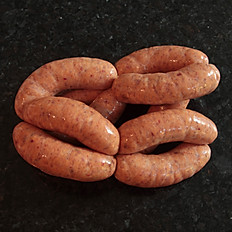 Piri Piri pork sausages