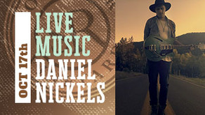 LIVE MUSIC w/ Daniel Nickels