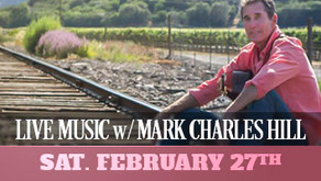 LIVE MUSIC w/ Mark Charles Hill