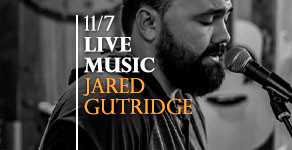 LIVE MUSIC w/ Jared Gutridge