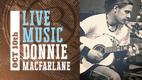 LIVE MUSIC w/ Donnie MacFarlane