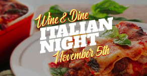 WINE & DINE : Italian Night