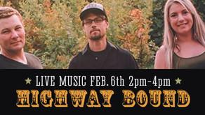 LIVE MUSIC w/ Highway Bound