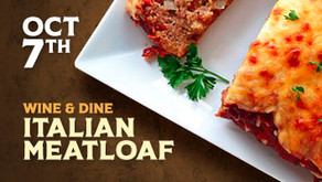 WINE & DINE : Italian Meatloaf