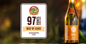 """2018 Albarino Receives 'Best in Class' and """"Double Gold"""" Medal"""