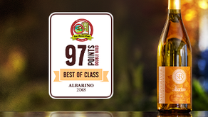 "2018 Albarino Receives 'Best in Class' and ""Double Gold"" Medal"