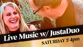 LIVE MUSIC w/ JustaDuo