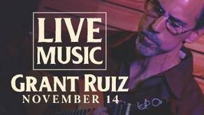 LIVE MUSIC w/ Grant Ruiz Flamenco & Classical Guitar