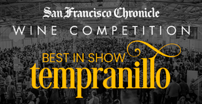 StoneRiver Vineyards 2015 Tempranillo judged 1 of 10 Best NW Wines at SF Chronicle Wine Competition