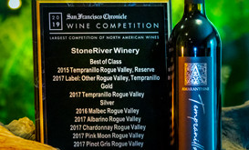 StoneRiver Vineyards wins 11 Awards at 2019 SF Chronicle International Wine Competition
