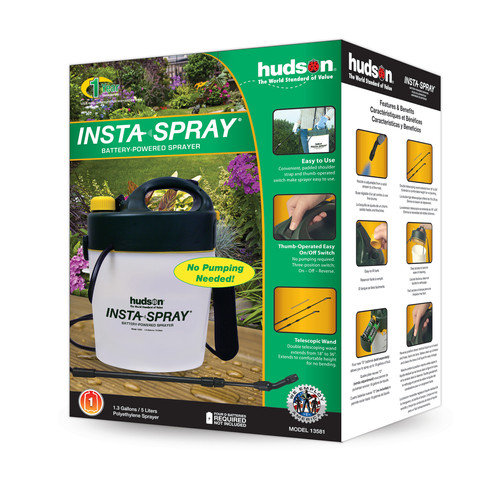 Insta Spray Battery Ed Sprayer