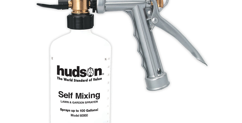 Self-Mixing Metal Hose End Sprayer