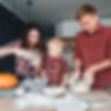 dad-mom-and-little-son-cook-a-pie-7TGP6K