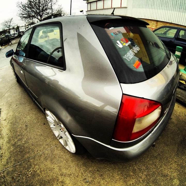 Audi S3 de Emilio