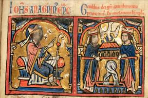 Numérisation du Speculum Grandimontis du XIIème siècle