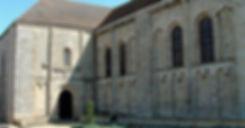 Abbaye Solignac transept nord