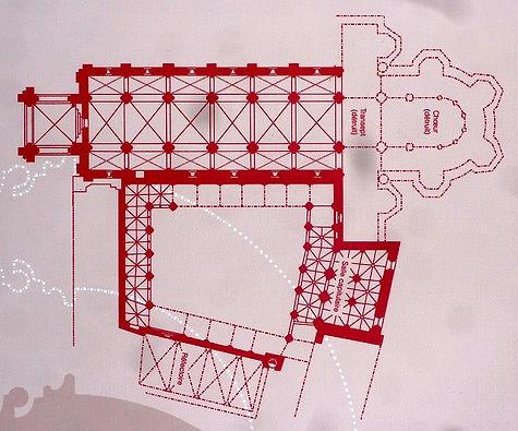 Plan Cathédrale de Tulle