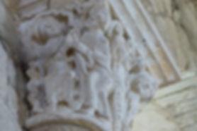 Chapiteau Prieuré d'Arnac