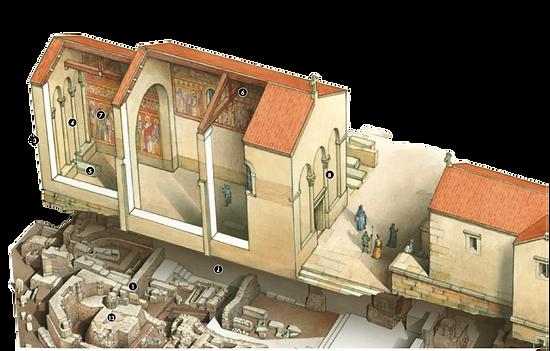 Saint-Pierre du SeÌpulcre au VIème siècle