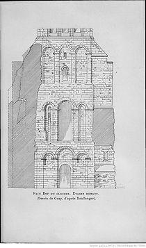 Cathédrale de Limoges dessin clocher