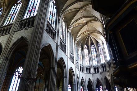 Cathédrale de Limoges tribunes nef