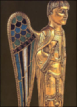 Ange reliquaire de Grandmont Saint-Sulpice-les-Feuilles