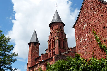 Clocher limousin Collonges