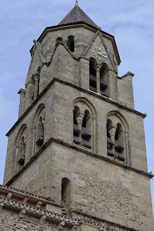 Clocher de l'abbaye d'Uzerche