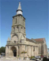 Clocher abbaye La Souterraine
