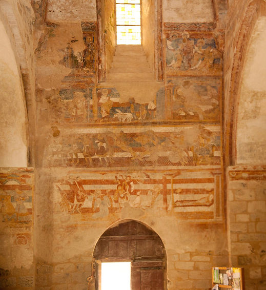 peintures salles lavauguyon