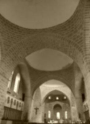 Nef romane de l'Abbaye de Solignac