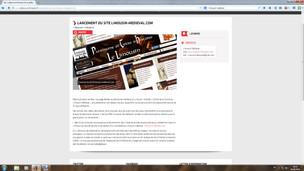 Lancement du site web en lien avec culture-en-limousin.fr