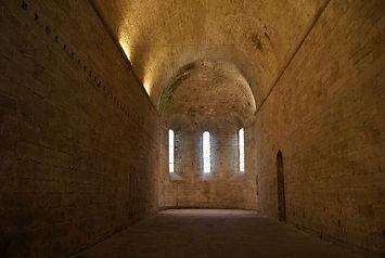 Nef de l'abbaye Grandmont