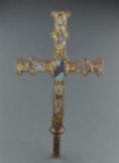 Croix émaillée Enamels Bonneval