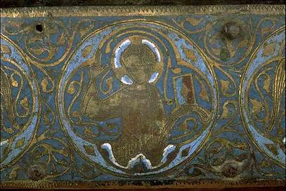 Chasse émaillée de sainte Catherine de Noailles