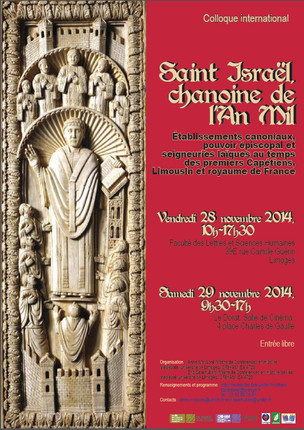 Colloque International : Saint Israël, chanoine de l'An Mil