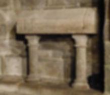 Collégiale Le Dorat sarcophage théobald