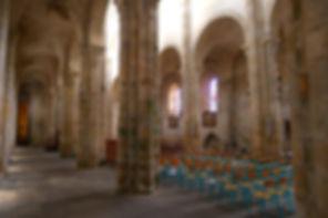 Nef Abbaye de Chambon sur Voueize