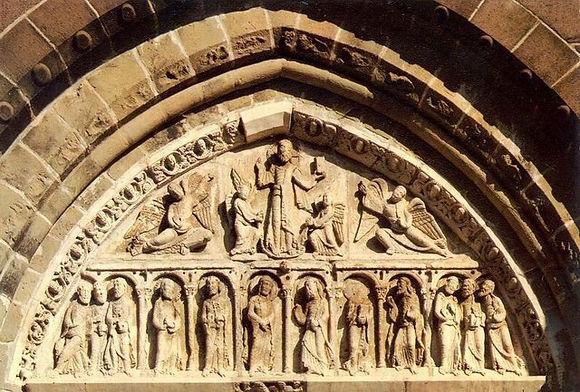Tympan Eglise de Collonges-la-Rouge