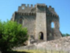 Maulmont chateau de Chalucet