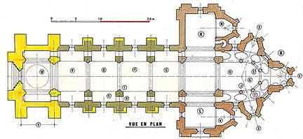 Plan Bénévent l'Abbaye