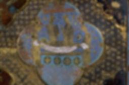 Chasse émaillée de Saint Viance