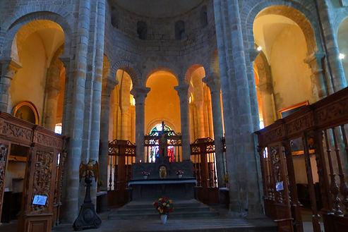 Choeur Abbaye de Chambon sur Voueize