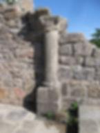Chateau et chapelle de Crozant